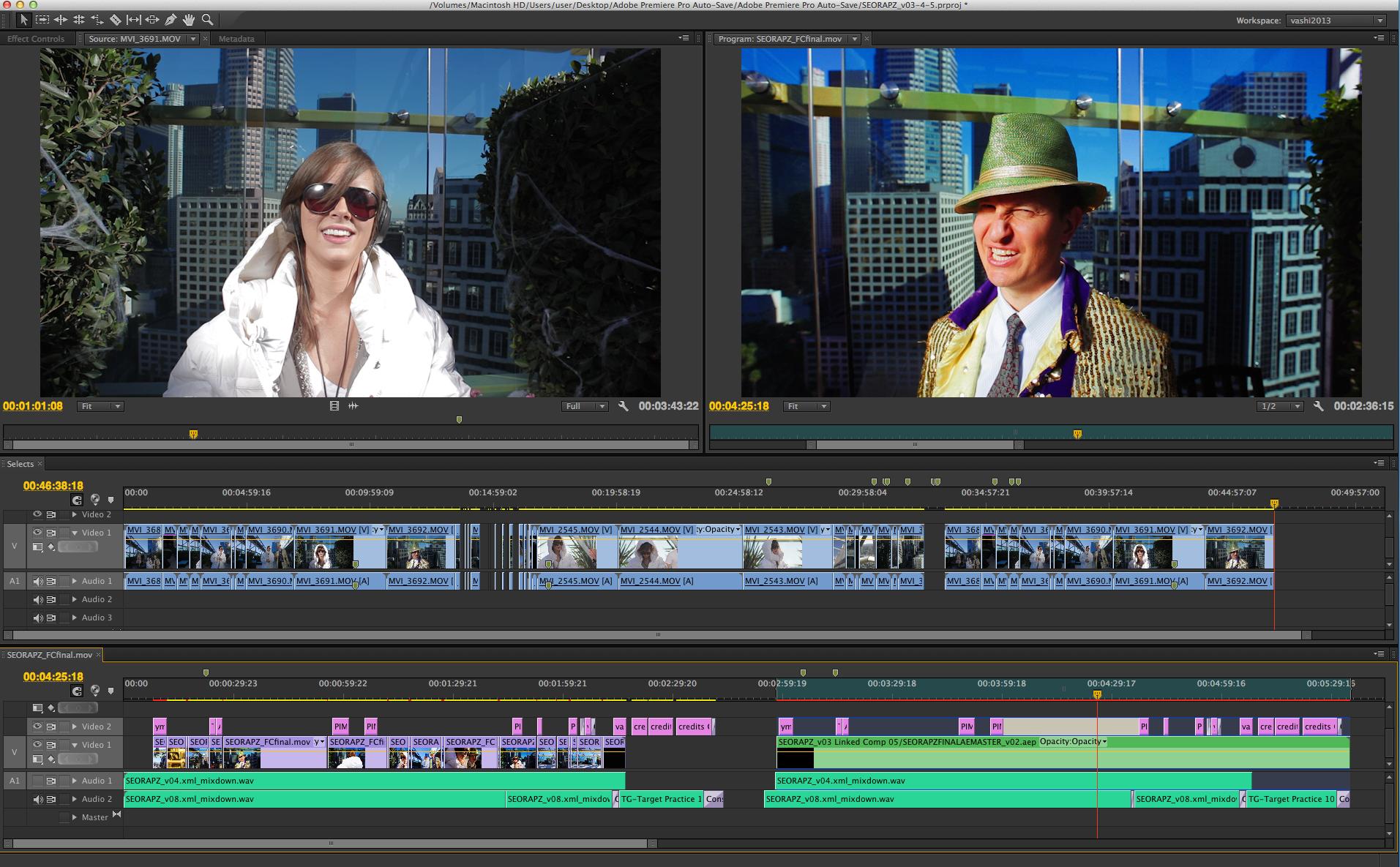 adobe movie editing