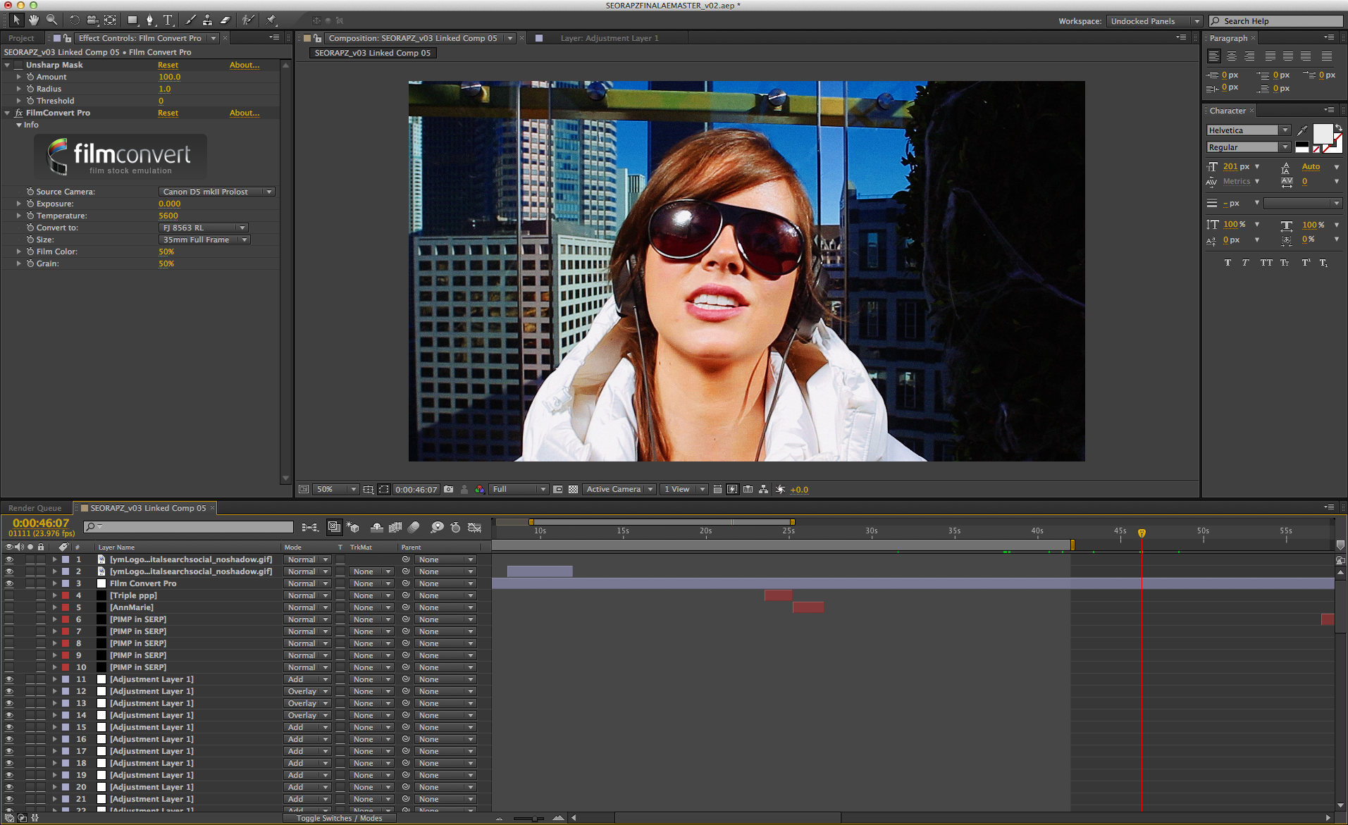 Music Video Editing in After Effects