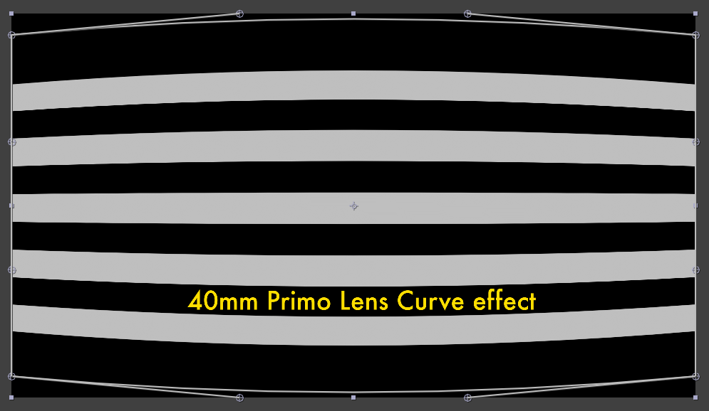 The 40mm Primo Curve effect with 12 control points