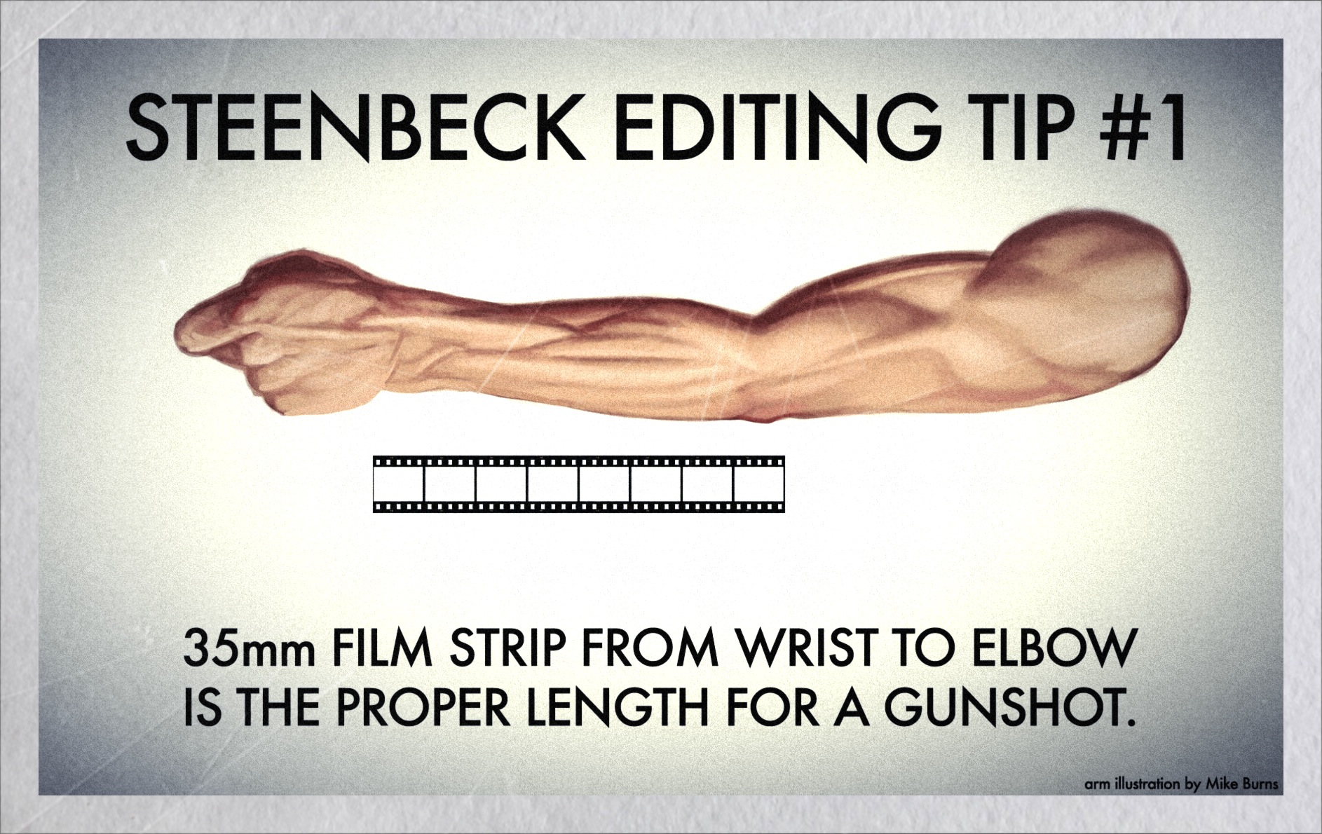 Old school editing tip