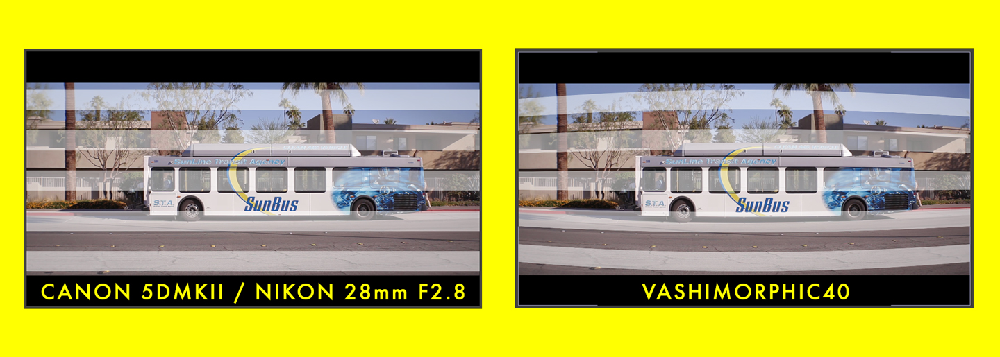 VashiMorphic40 applied to bus footage