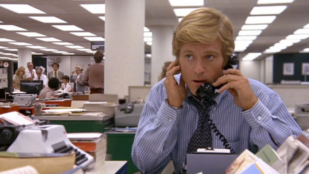 Robert Redford in All The President's Men