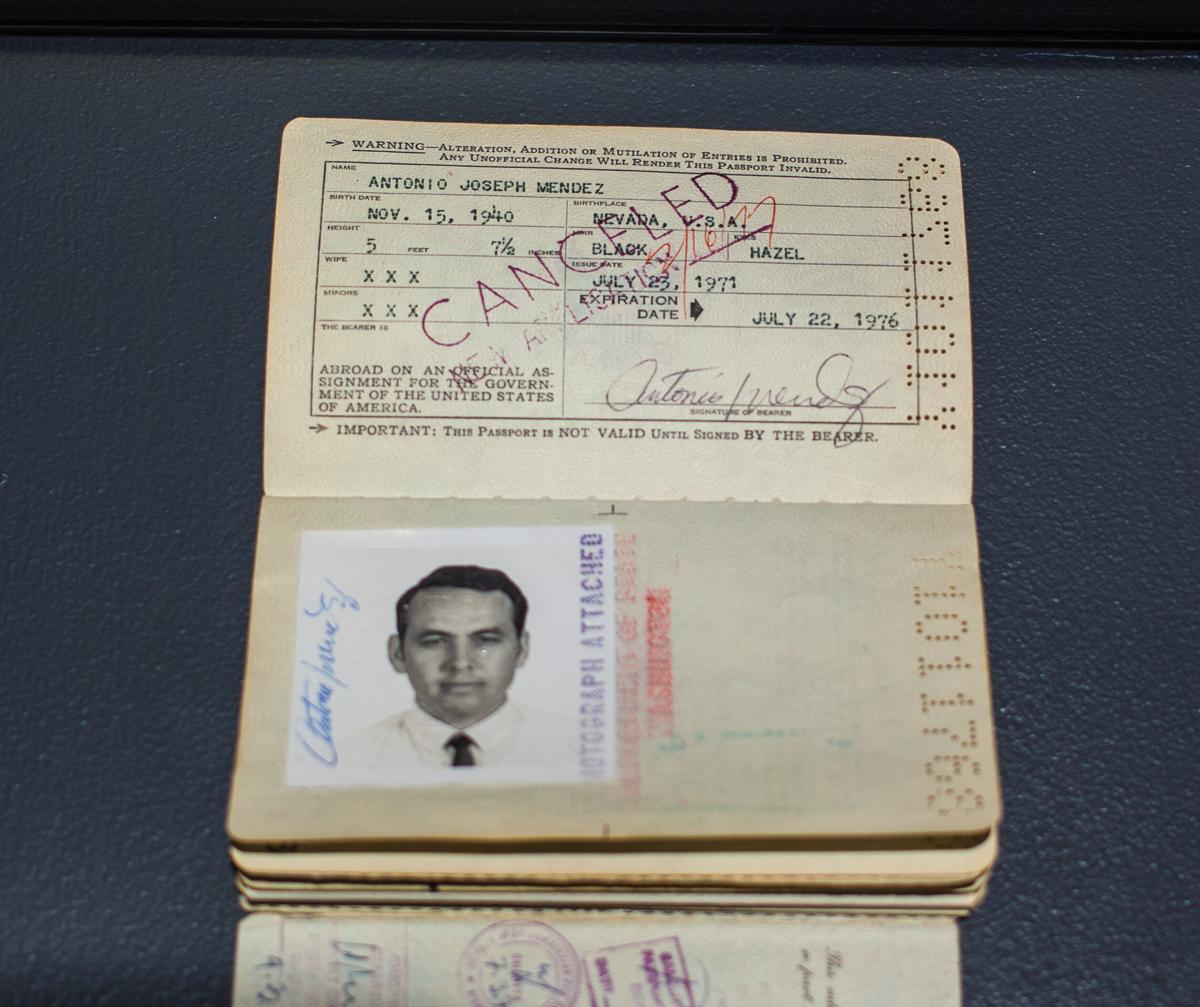 Tony Mendez passport