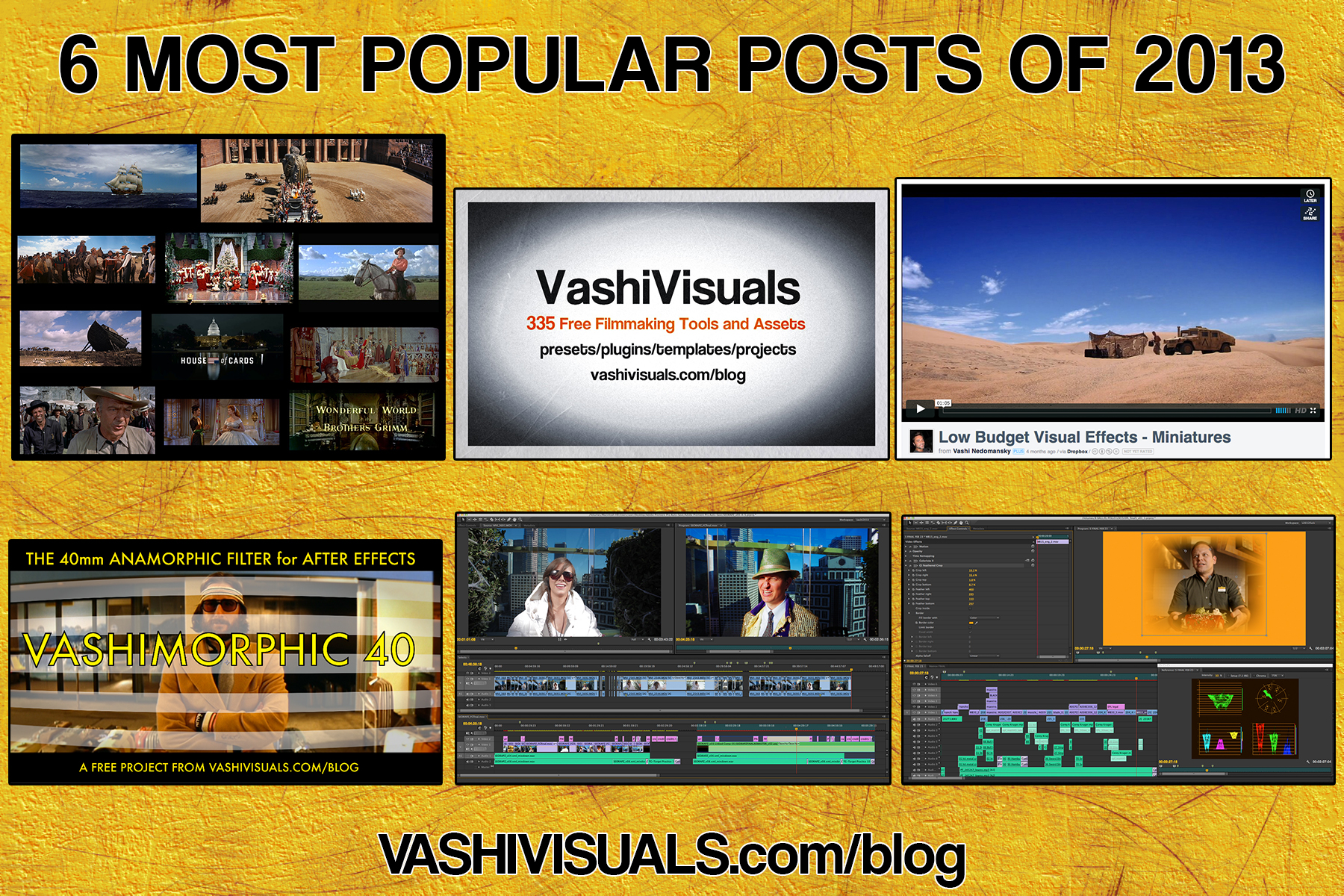 6 most popular posts of 2013 on VashiVisuals Blog