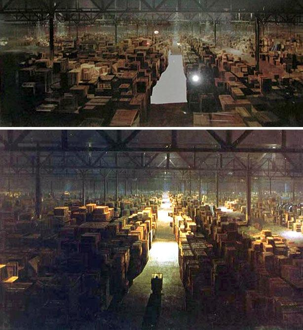 Raiders Of The Lost Ark - Matte Painting