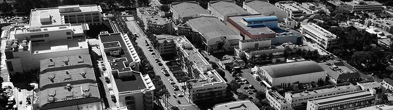 FOX Studios aerial