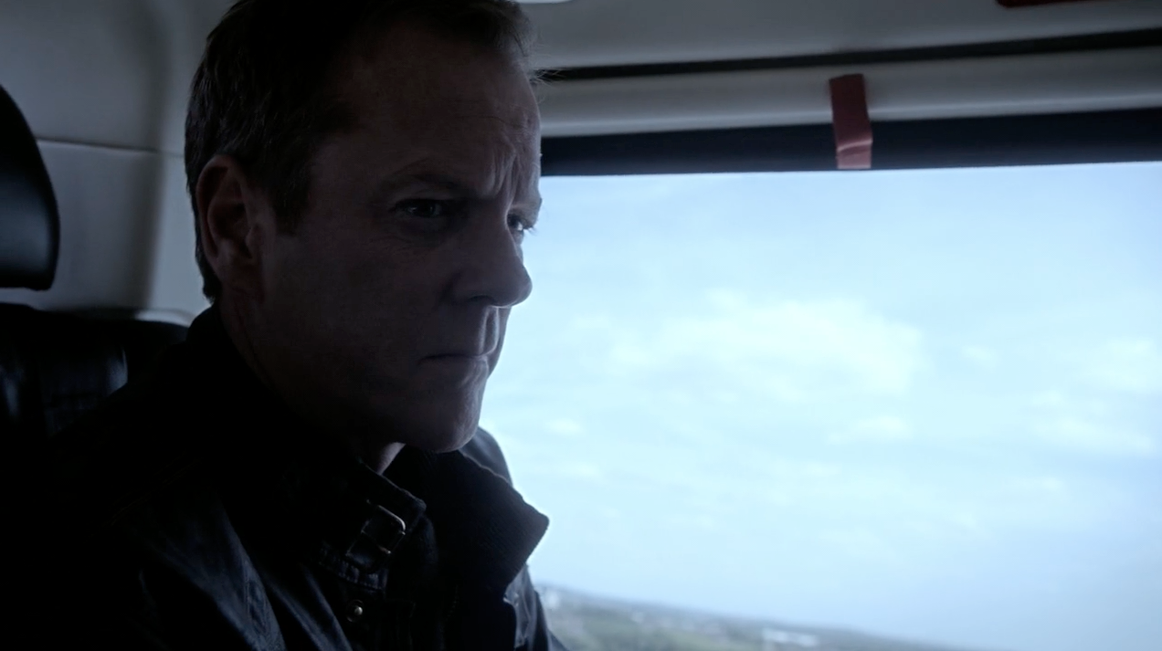 Jack Bauer in the helicopter