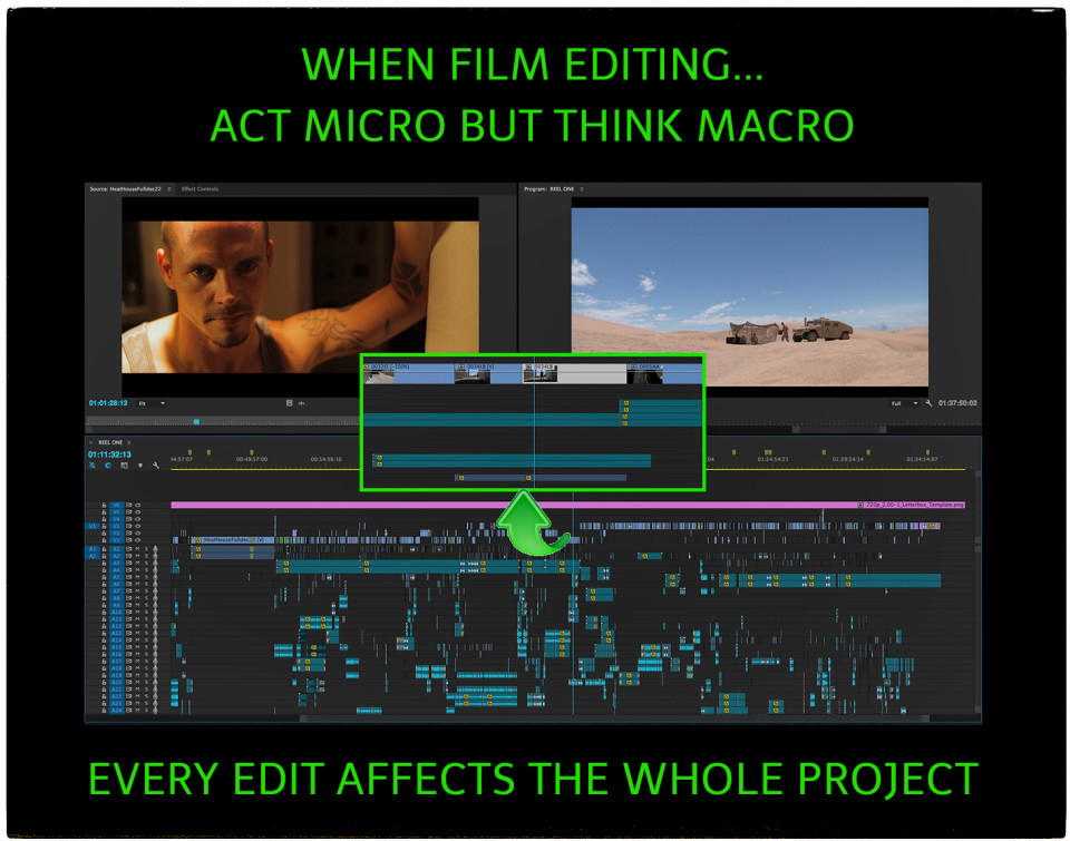 what does a film editor do