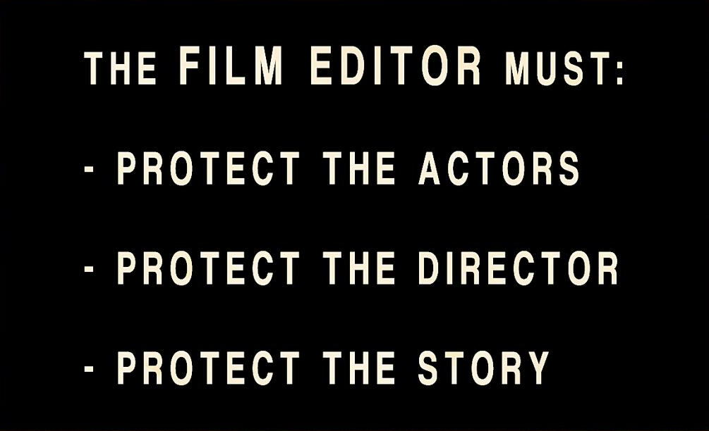 editor must protect