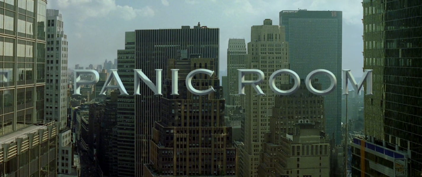 Title image from PANIC ROOM