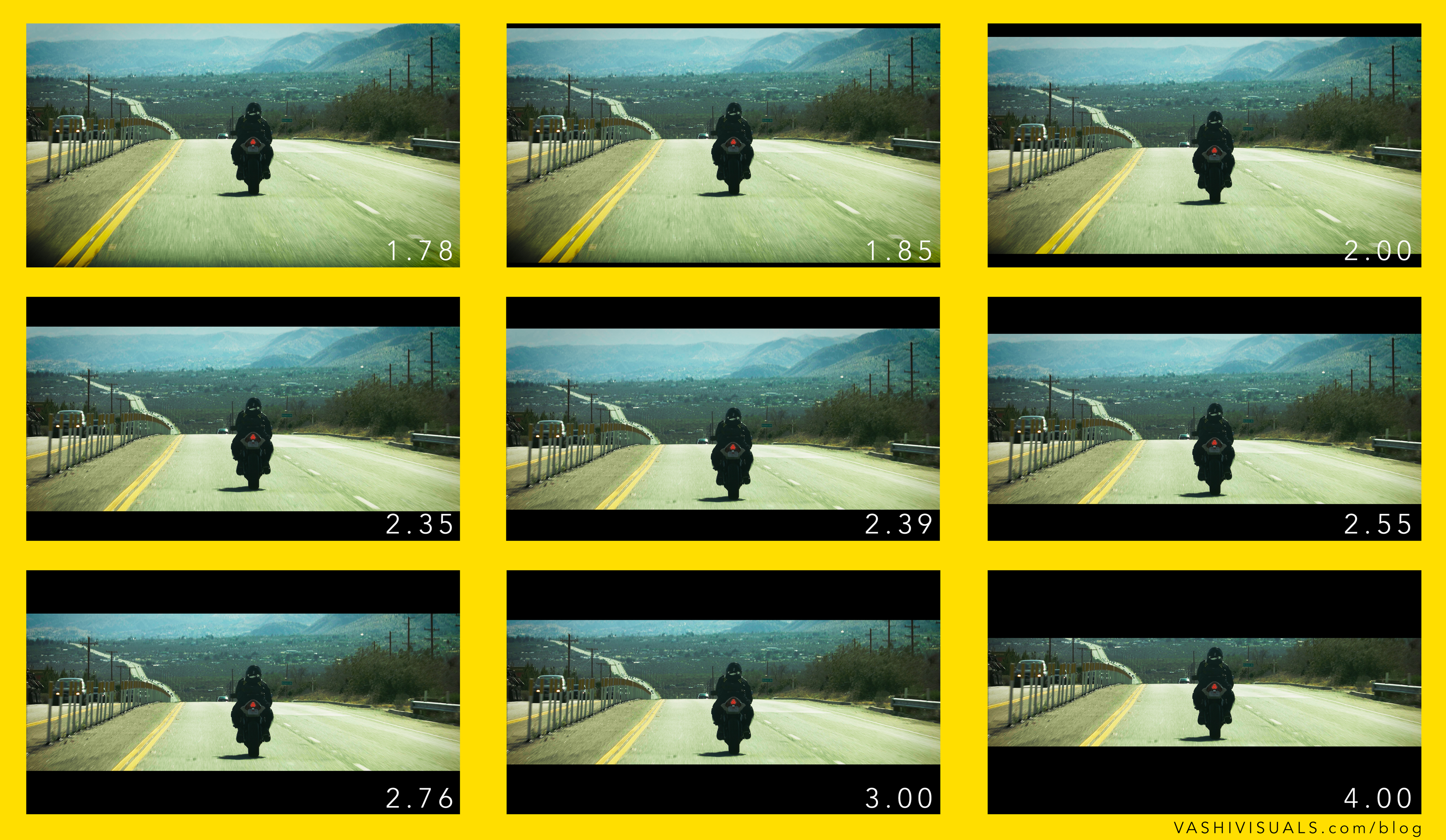 all 8 aspect ratios from my free template pack