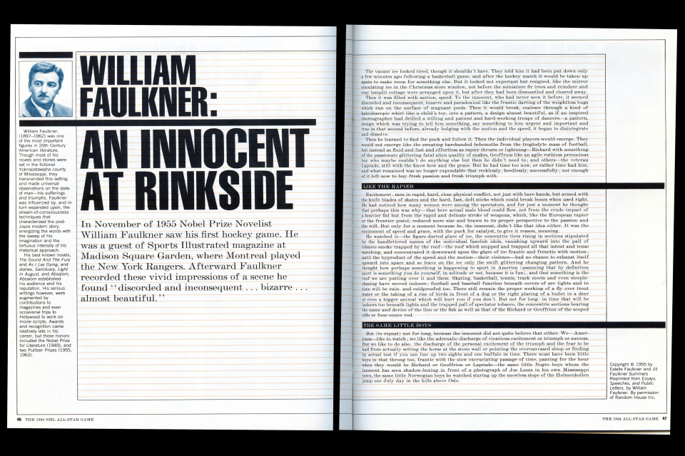 William faulkner essays
