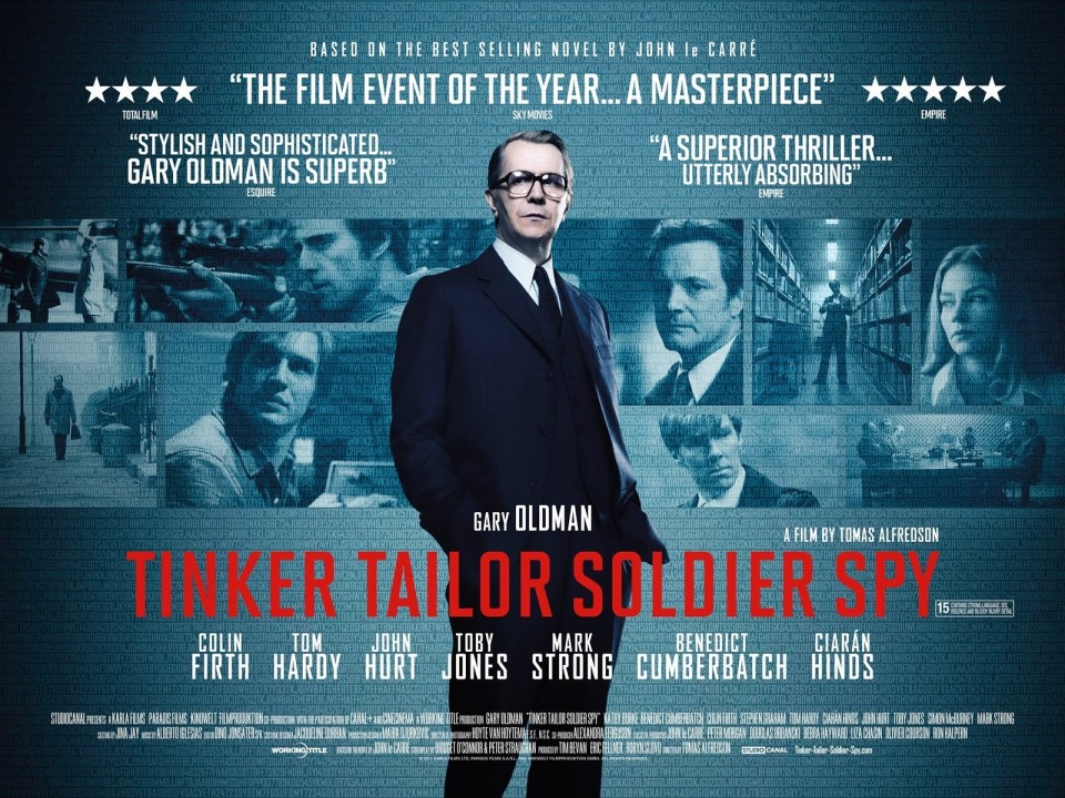 Tinker Tailor Soldier Spy (2011) directed by Tomas Alfredson