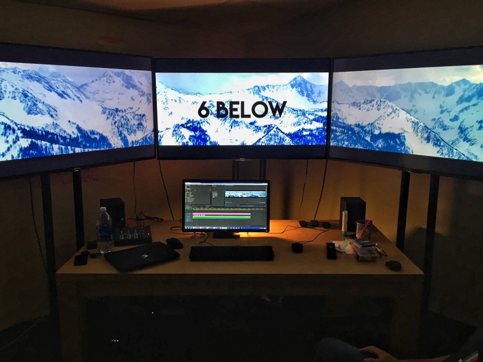 3 Sony 4K TV Barco viewing edit bay