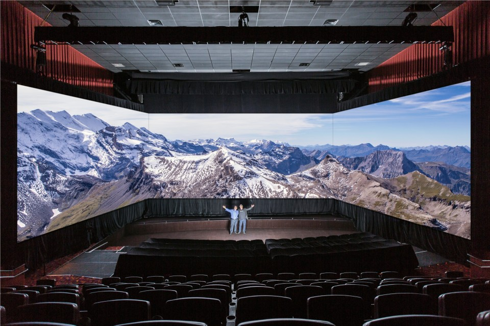 The 6K Barco Escape Theater
