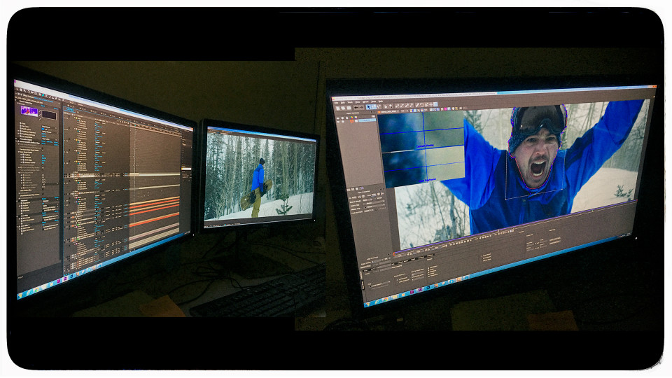 All the VFX is done at 6K inside After Effects and Mocha