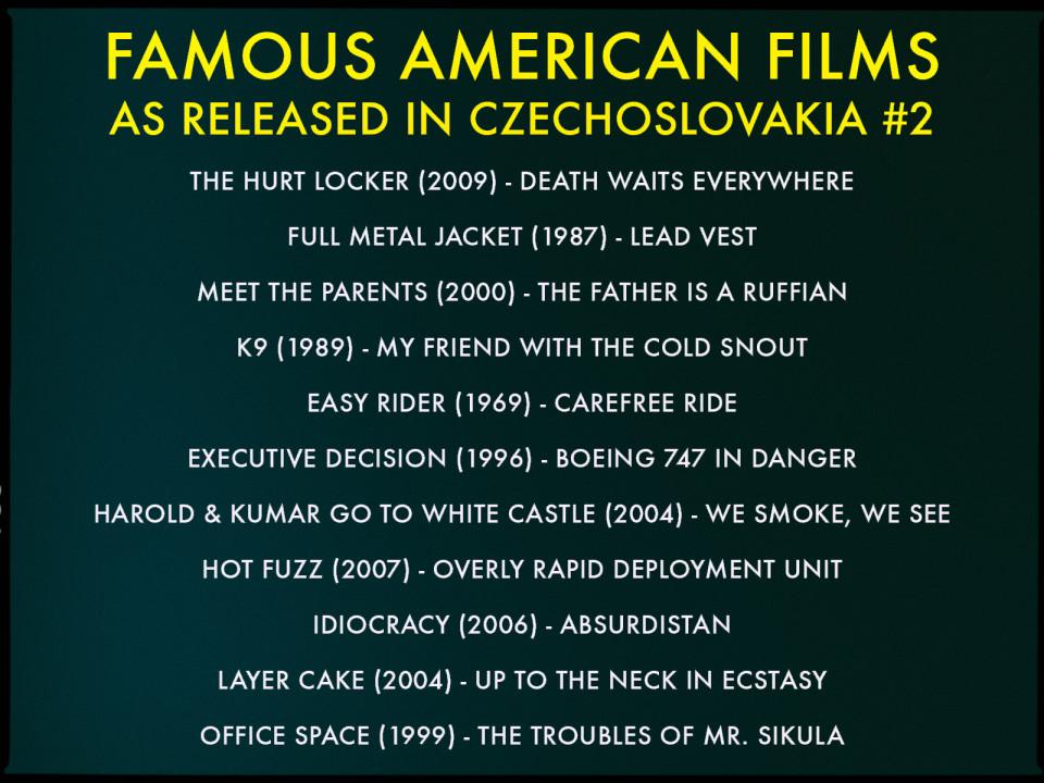 Czech movie translations #2
